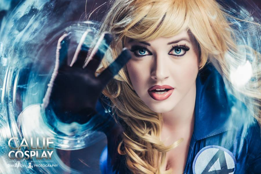 Callie Cosplay  is Invisible Woman | Photo by:  David Love Photography