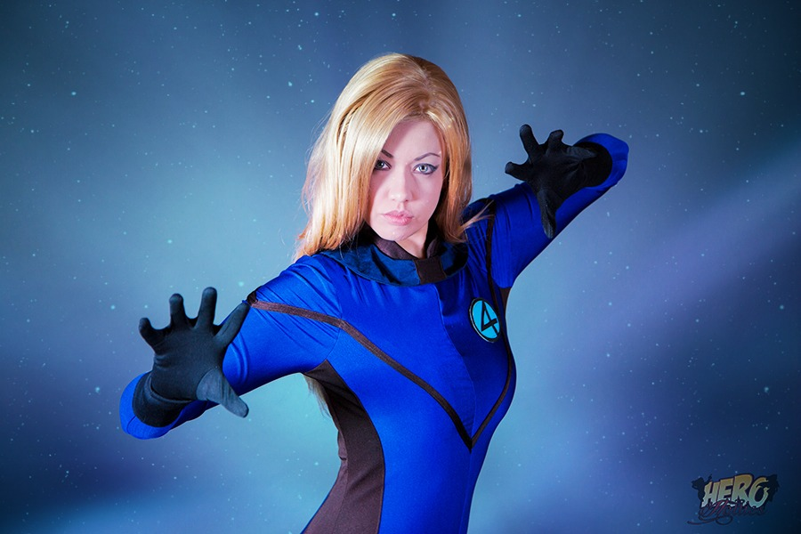 Victoria Cosplay  is Invisible Woman | Photo by:  Crumz Photography