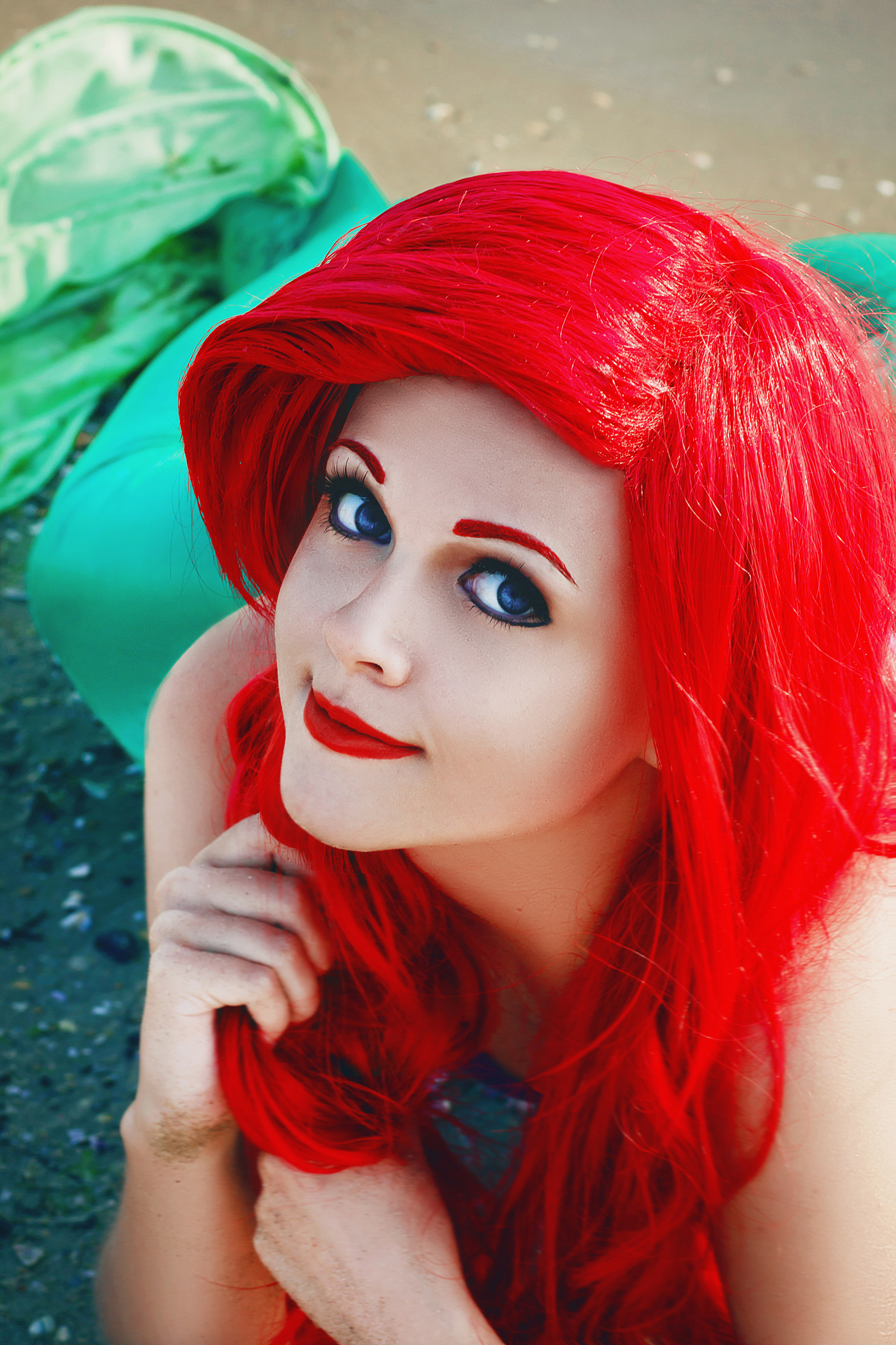 Lavi-A-V  is Ariel, The Little Mermaid