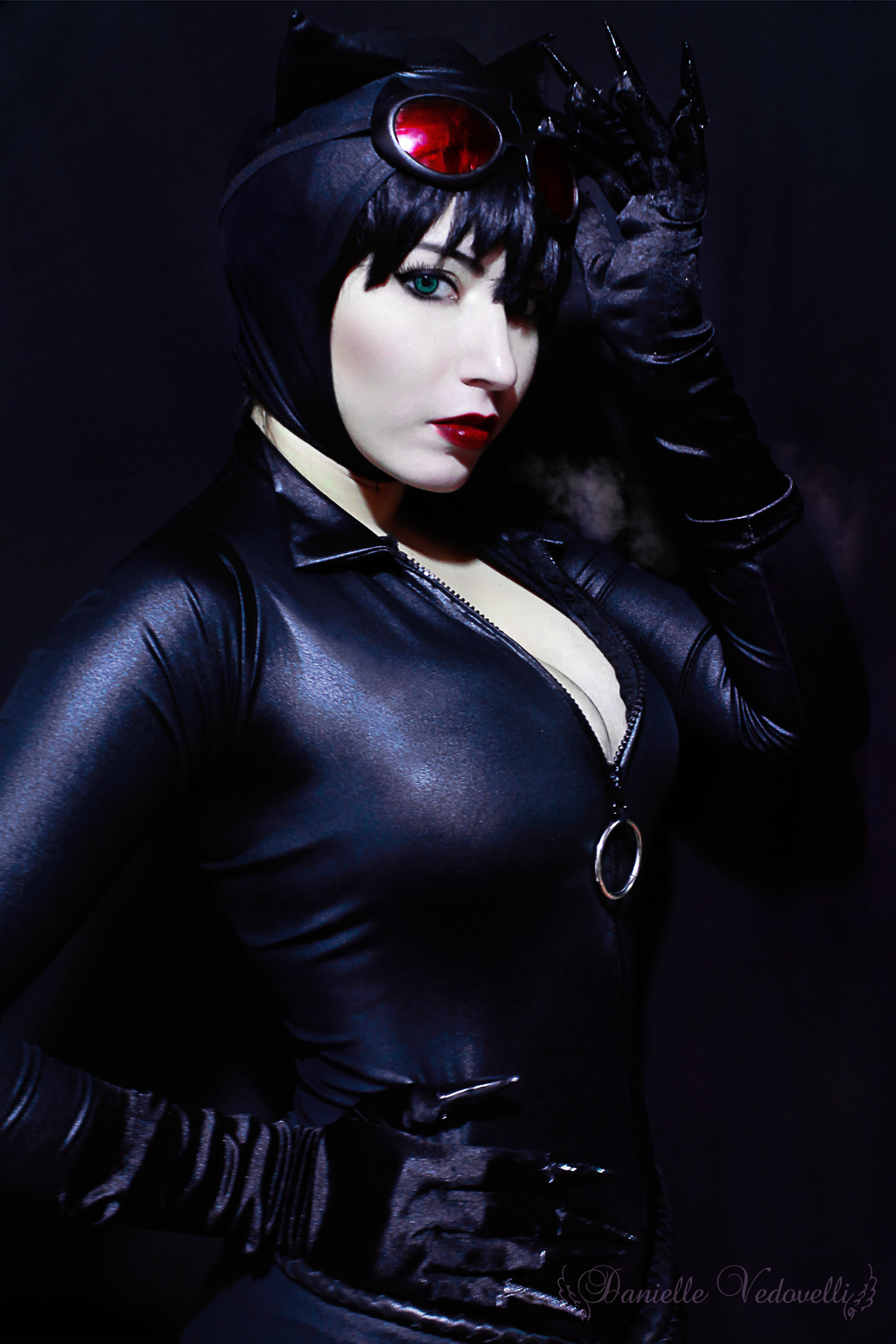 Danielle Vedovelli  is Catwoman — Photo by Eve, The Bard