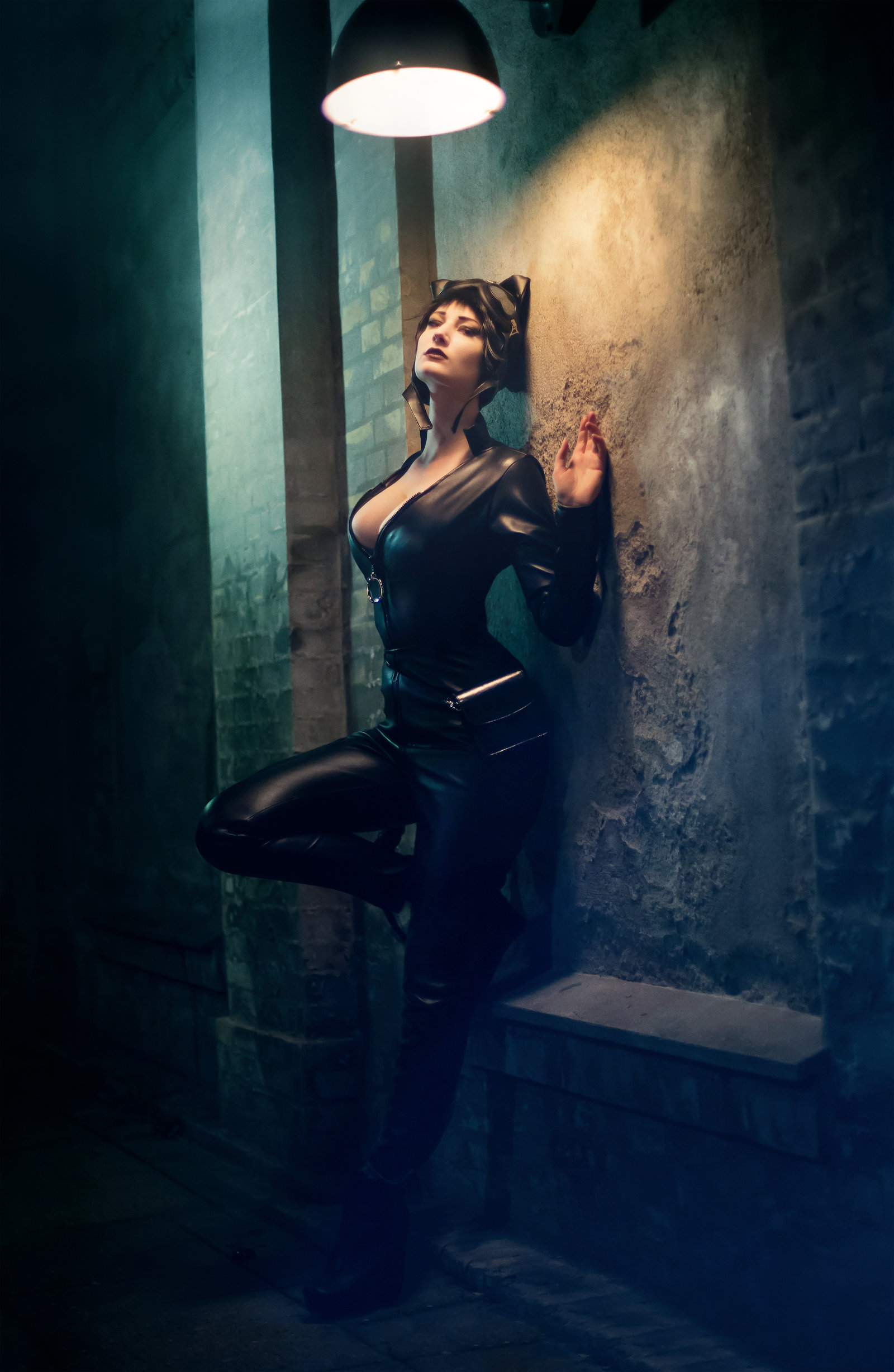 Kelevar Cosplay  is Catwoman — Photo by Michael la-Cour