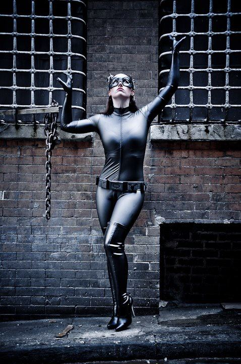 Kimberly Moore  is Catwoman — Photo by Ron 'Spidey' Gejon