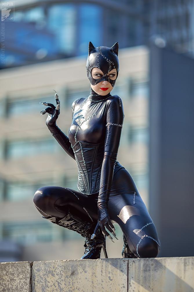 Irina Ushenina is Catwoman — Photo by Kifir