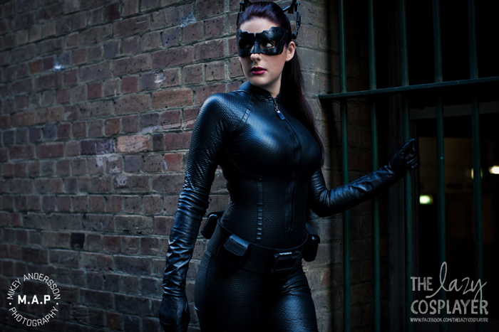 The Lazy Cosplayer  is Catwoman — Photo by Mikey Andersson  — Via  Geek X Girls