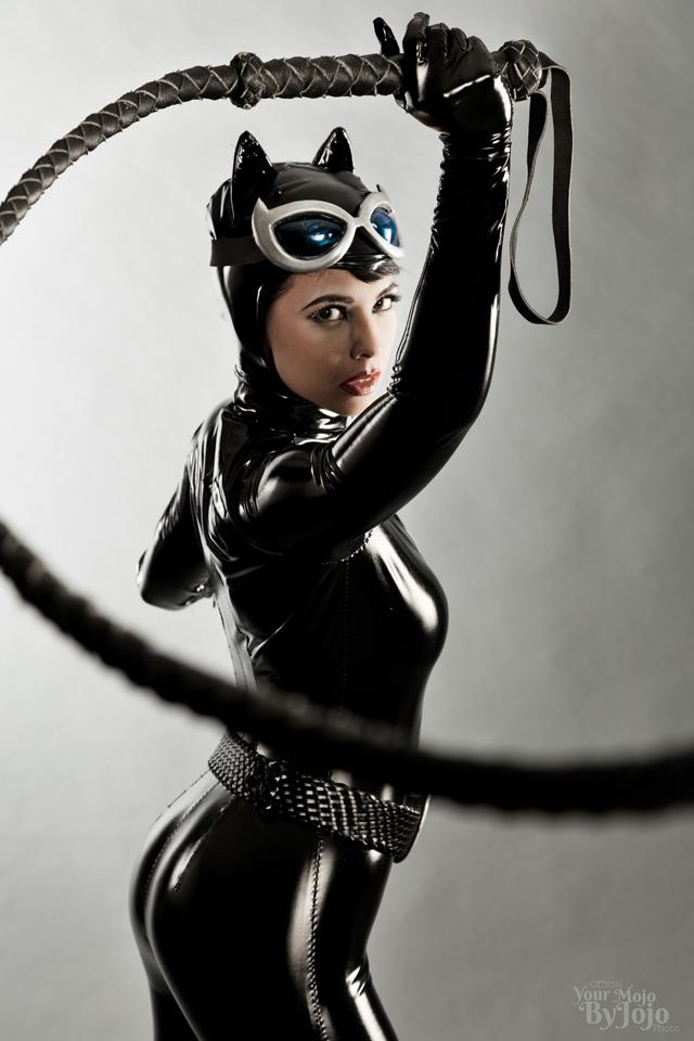Margie Cox  is Catwoman — Photo byJo Arellanes at YourMojoByJojo  —