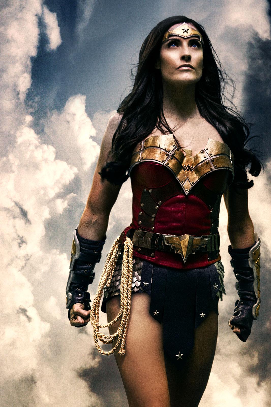 Rileah Vanderbilt  is Wonder Woman — Photo by  Rainfall Films
