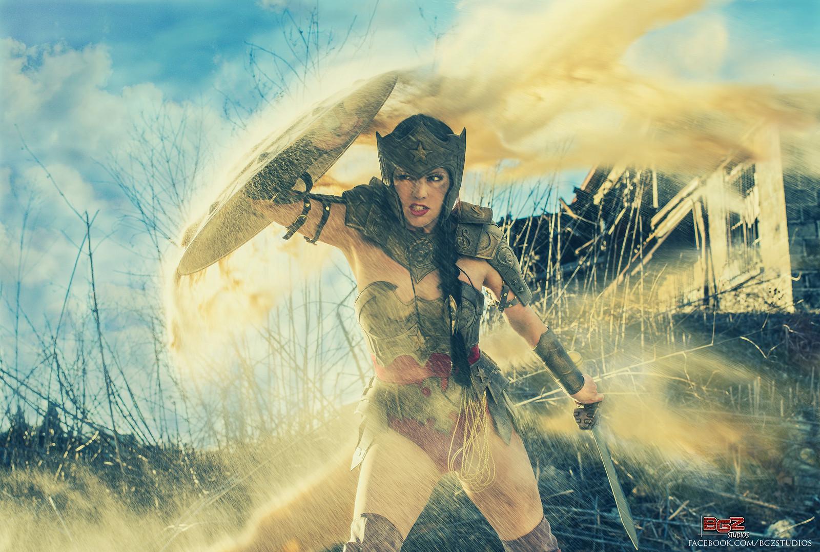 Miracole Burns  is Wonder Woman — Photo by  BGZ Studios