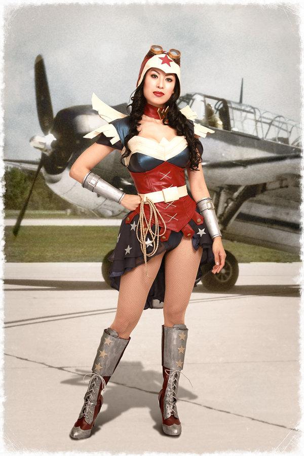 Apotheosis Cosplay  is Wonder Woman — Photo by  Glenn Rane