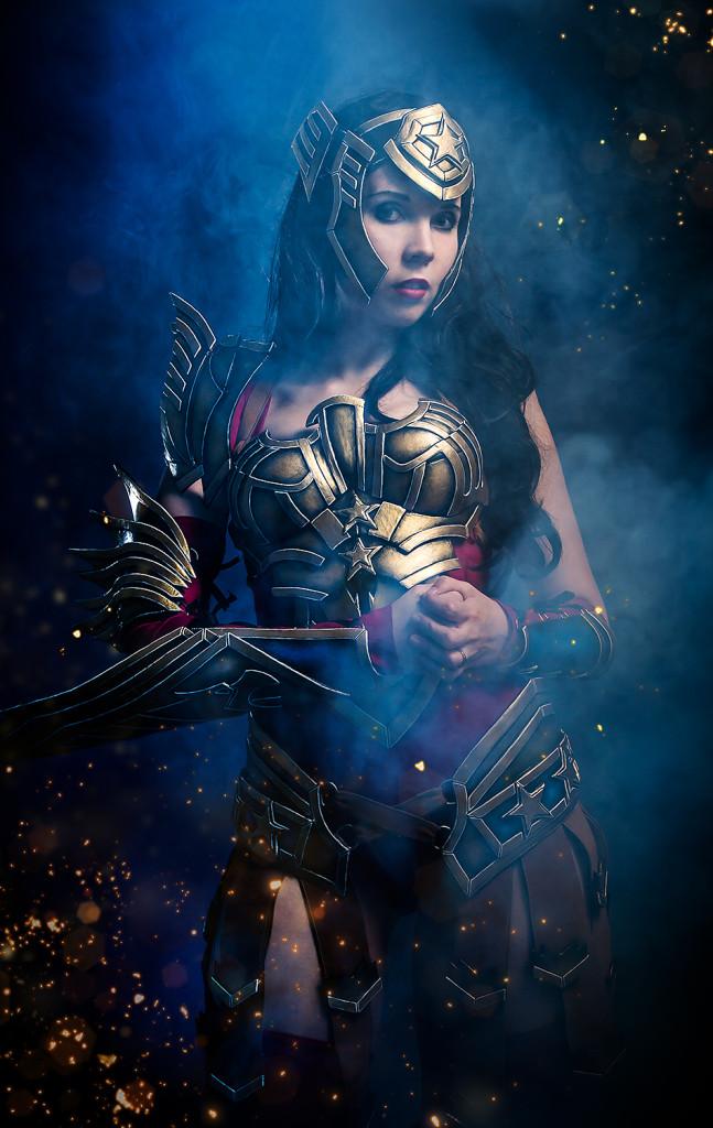 Kamui Cosplay  is Wonder Woman — Photo by Julia Krotzek