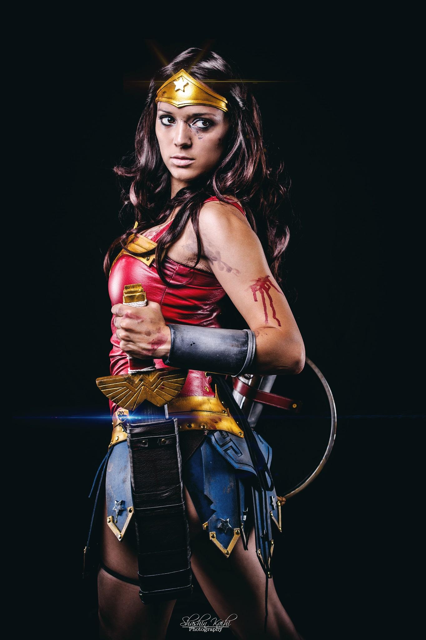 Illyne  is Wonder Woman — Photo by  Shashin Kaihi Photography