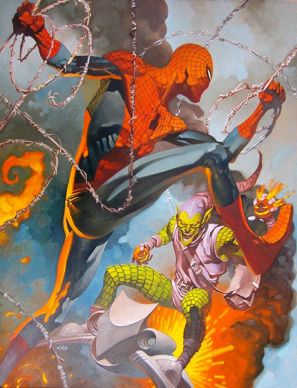 Spider Man And Wolverine Art By Chris Stevens Geektyrant