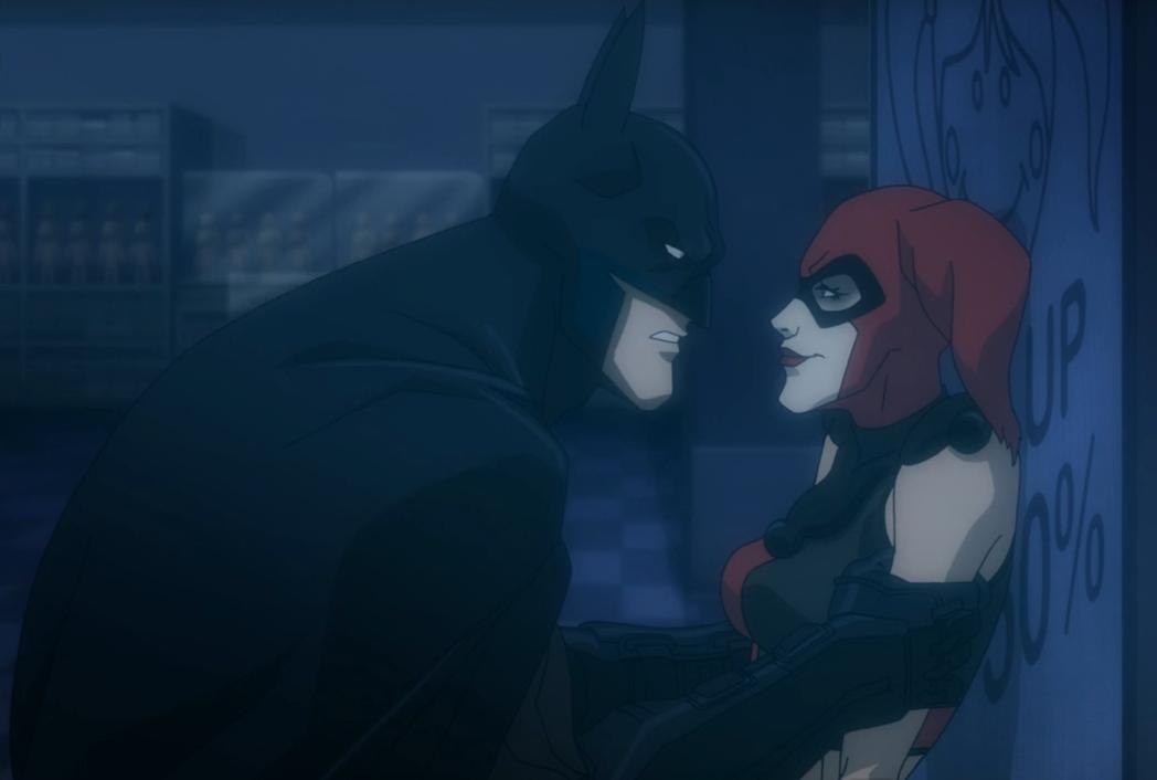 Harley Quinn Confronts Batman In Batman Assault On Arkham Clip
