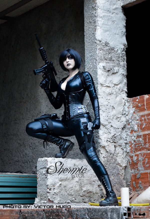 Shermie Cosplay  is Domino | Photo by: Victor Hugo