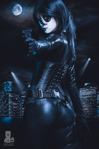 Heather Leet  is Domino | Photo by:  David Love Photography