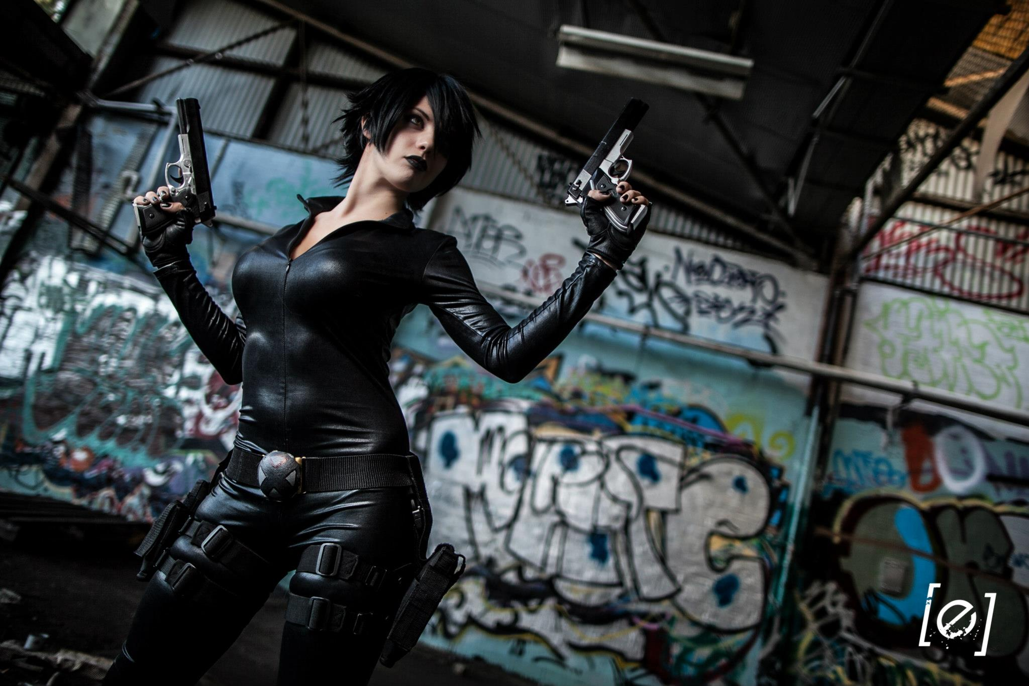 Bad Luck Kitty  is Domino | Photo by  E Photography