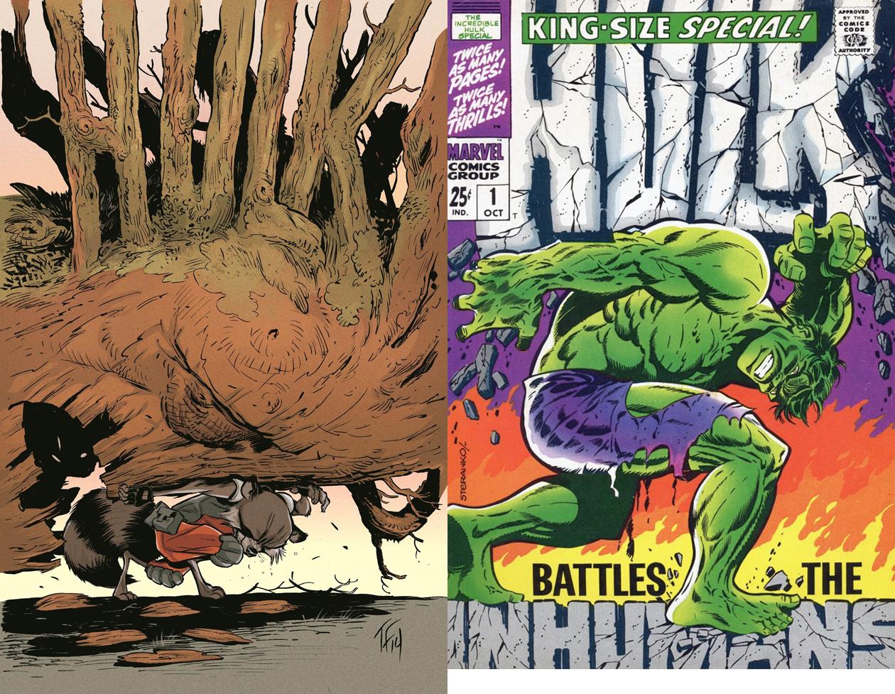 Hulk #8 variant by Tom Fowler