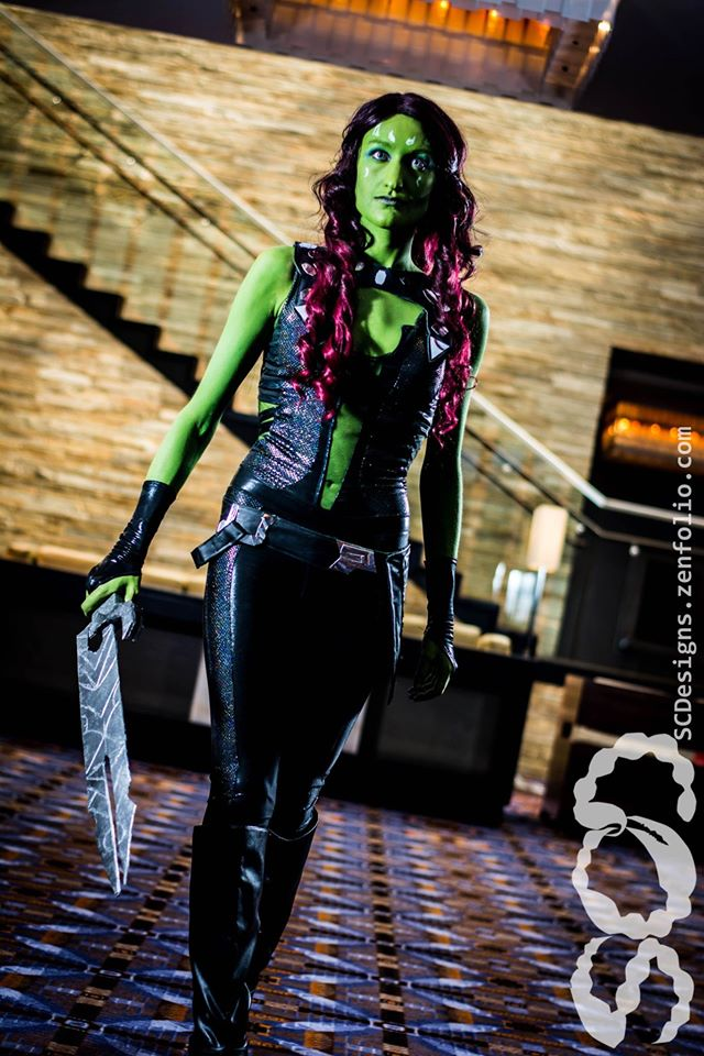 Moe Hunt  is Gamora | Photo by:  Scorpio Concept Designs