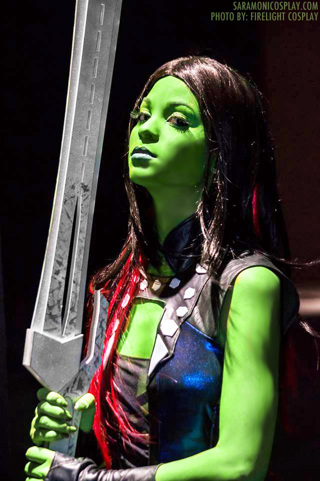 Sara Moni Cosplay  is Gamora | Photo by:  Firelight Cosplay