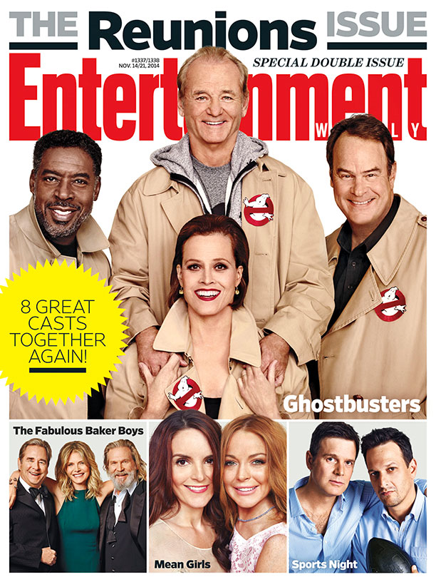ghostbusters-reunion-ew-cover-and-video-with-bill-murray