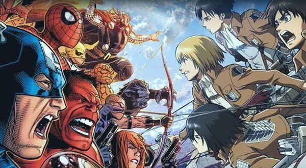 attack-on-titan-and-marvel-crossover-will-feature-the-avengers