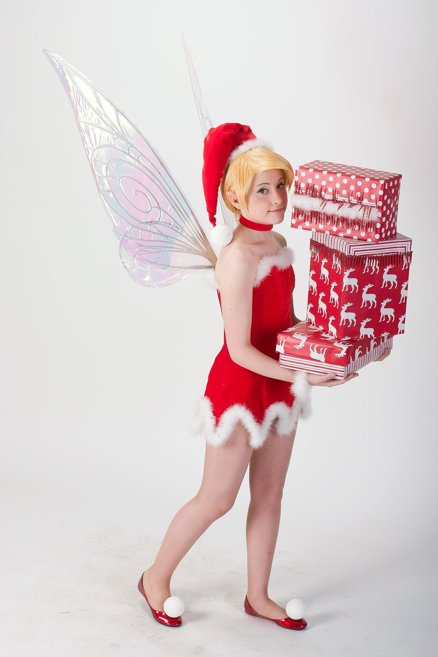 Christmas Tinkerbell.Christmas Tinkerbell Cosplay By Tink Ichigo Geektyrant