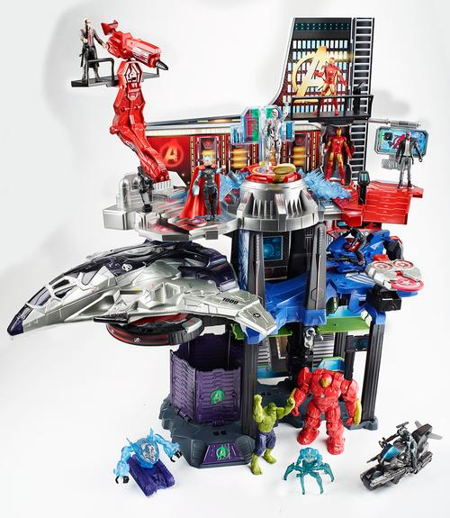 avengers-age-of-ultron-hasbro-action-figures-and-dragon-statues13