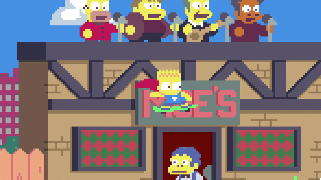 Watch The Simpsons Opening Sequence In Pixel Art Geektyrant