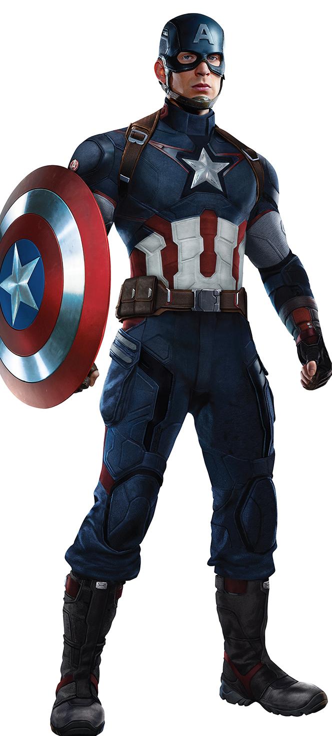 The Evolution of Captain America's Uniform — GeekTyrant