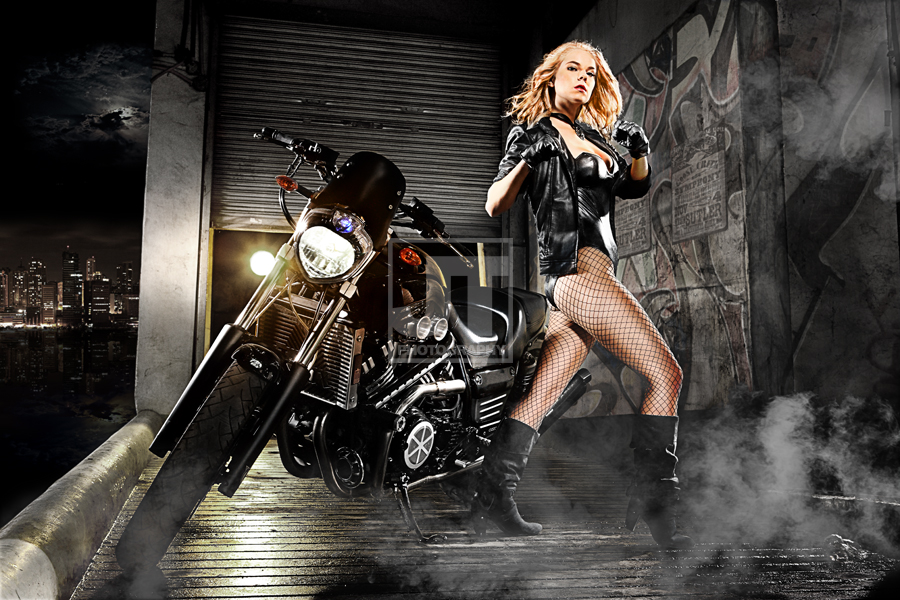 Kirja Parcell is Black Canary | Photography by  Jay Tablante