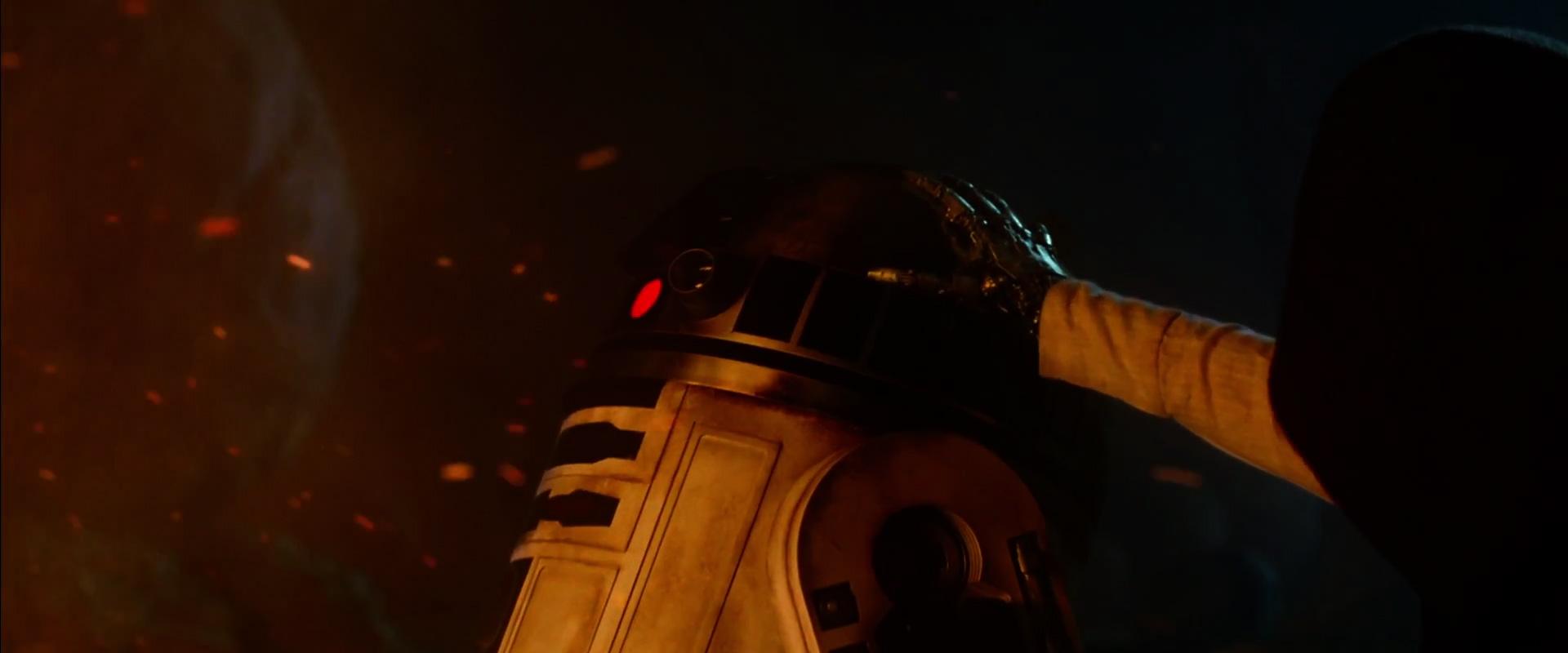 R2-D2 and very likely Luke Skywalker ( Mark Hamill ).