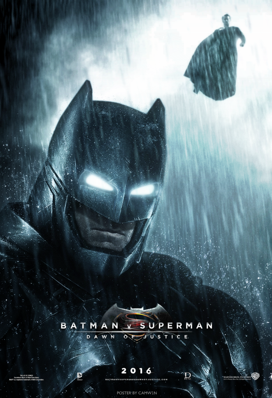 Batman Dons His Armor In Fan Made Poster For Batman V Superman