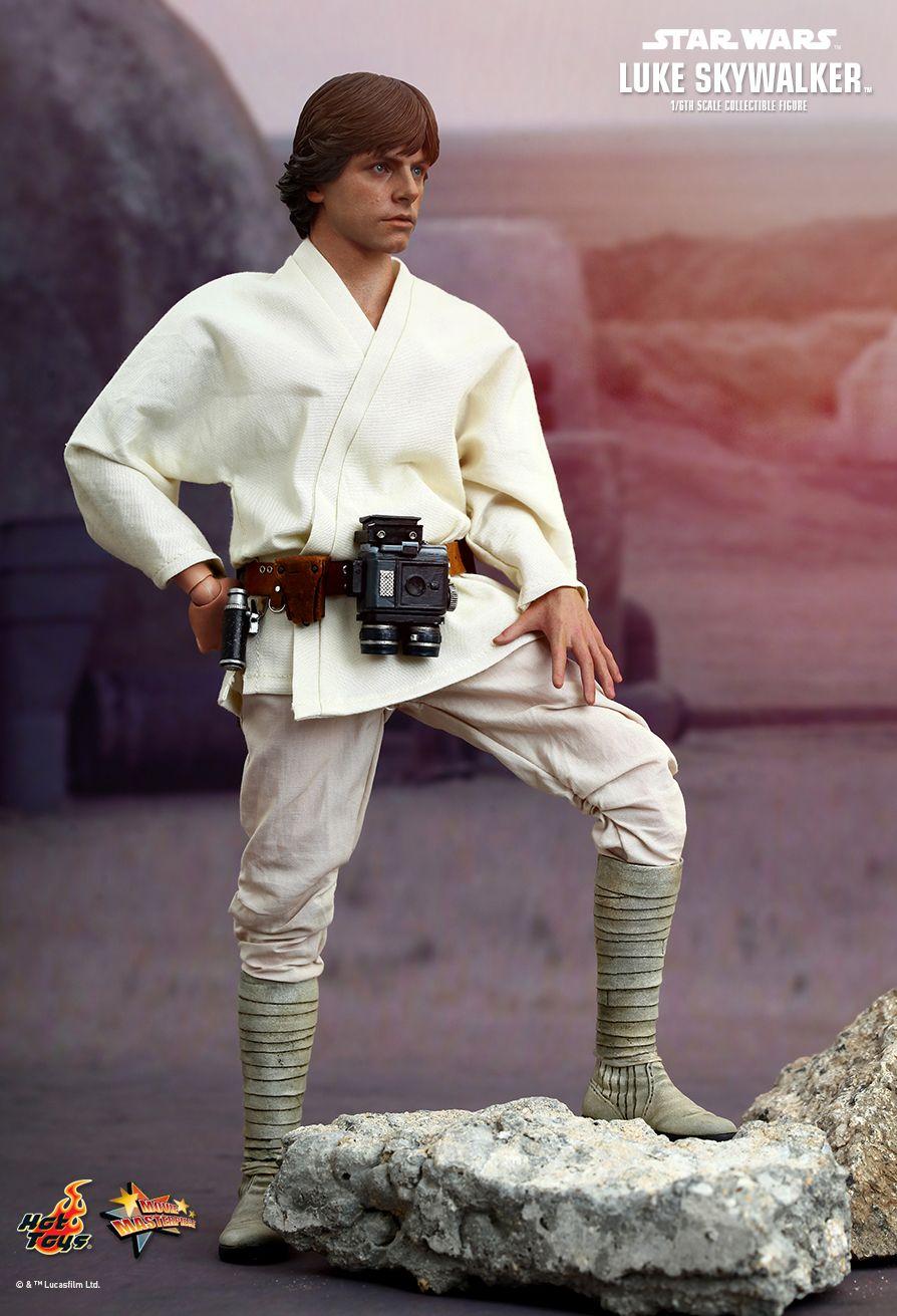 1//6 scale toy STAR WARS Luke Skywalker Necklace