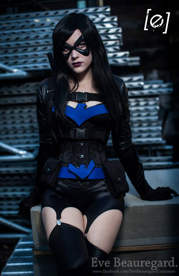 Eve Beauregard  is Nightwing   Photo by  Ecky Reyes