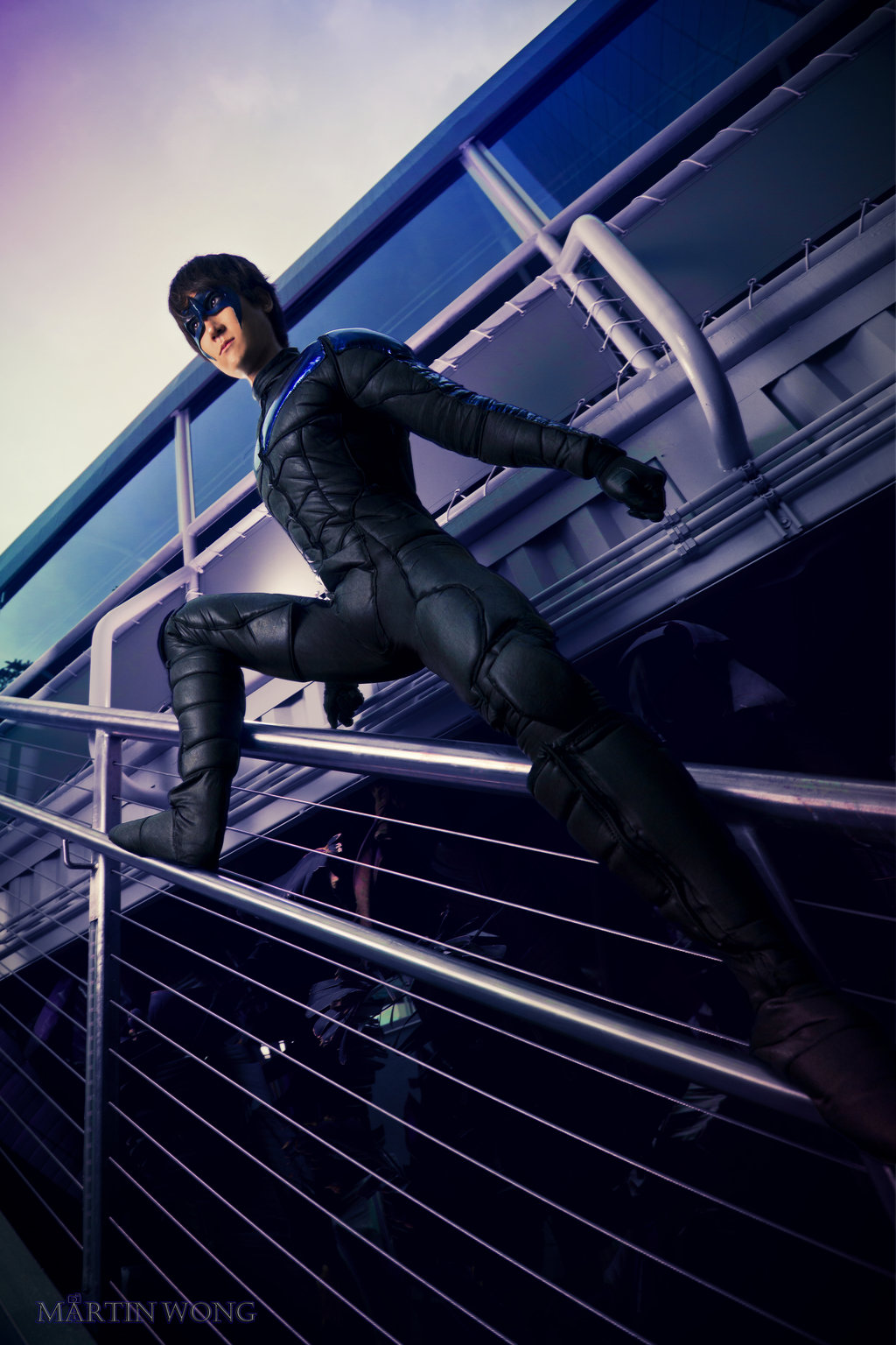PhDPepper  is Nightwing   Photo by  Martin Wong