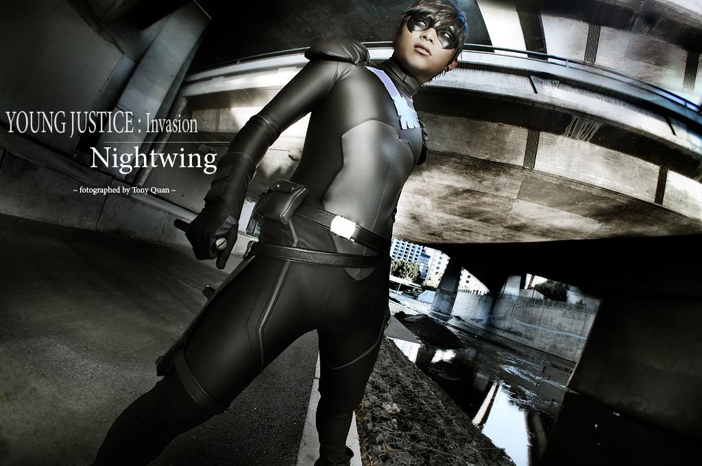 OhJimmyBoy  is Nightwing   Photo by  Tony Quan
