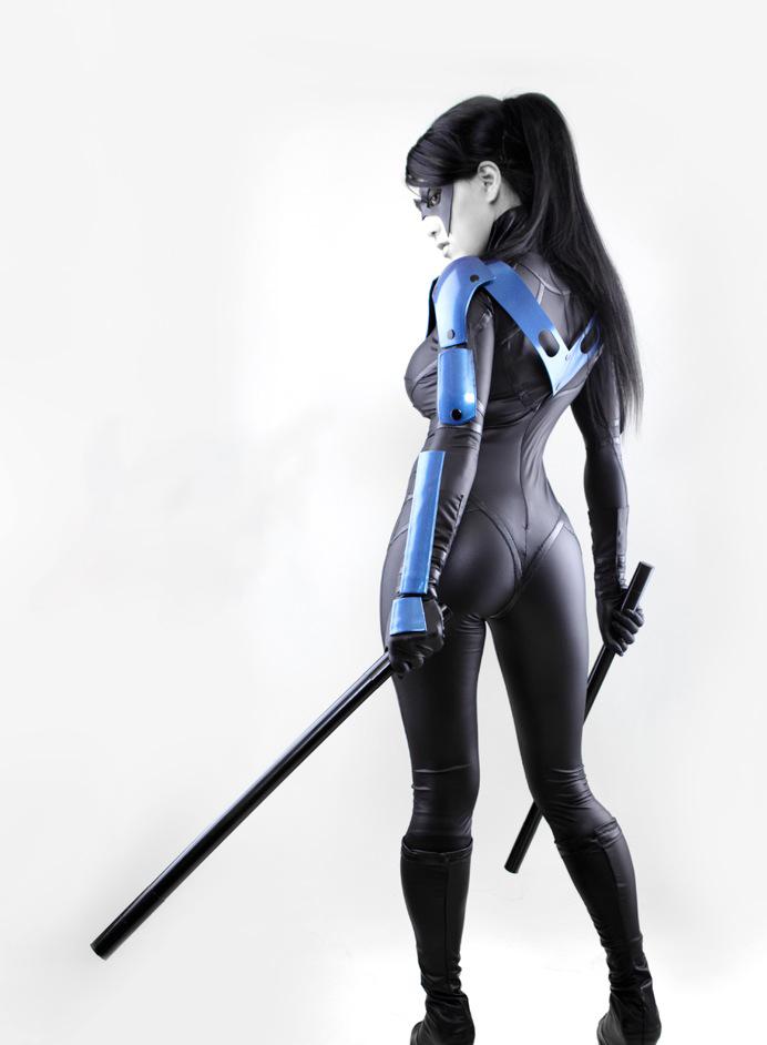 VampBeauty  is Nightwing   Armor by Team Mantium