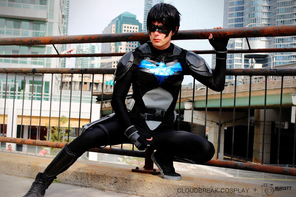 Cloudbreak Cosplay  is Nightwing   Photo by  Burditt Photography