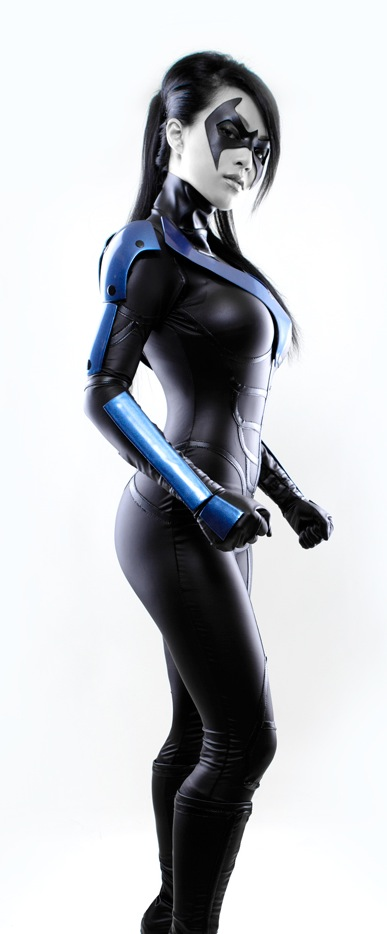 VampBeauty  is Nightwing   Photo by  Long Vo Photography