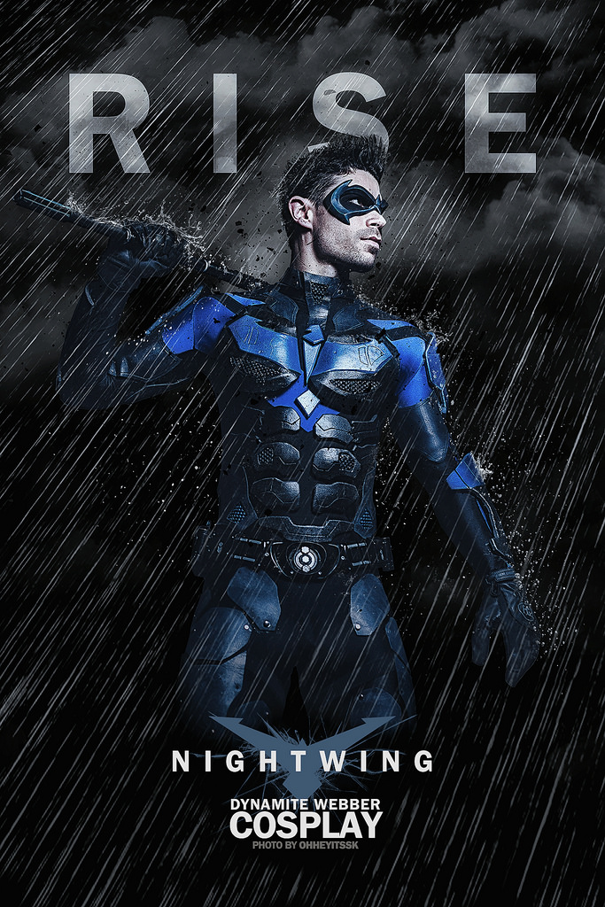 Dynamite Webber Cosplay  is Nightwing   Photo by  OhHeyItsSK