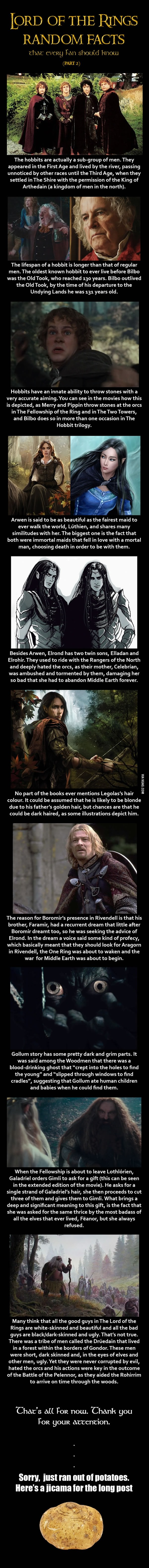 Long List of LORD OF THE RINGS Facts that Every Fan Should
