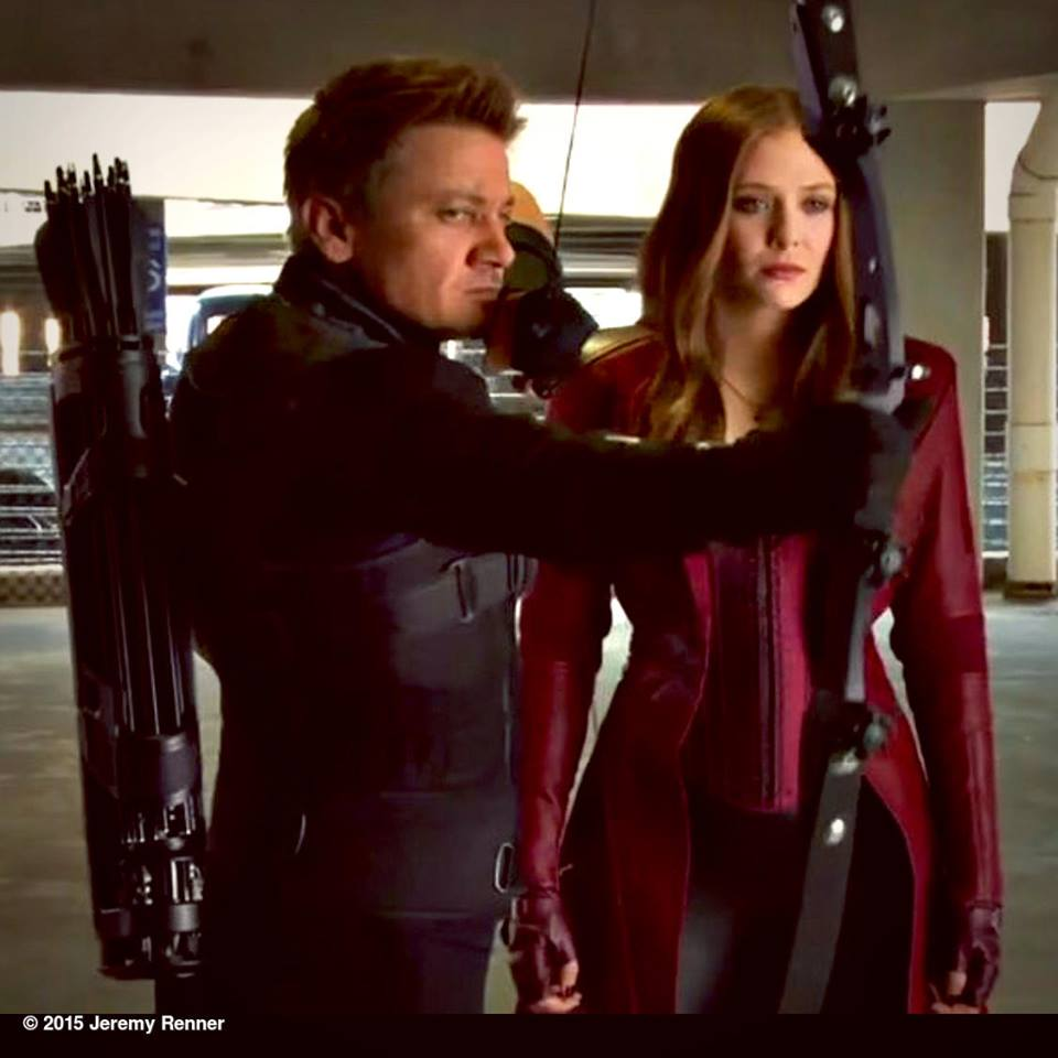 Scarlet Witch And Hawkeye Featured In New Captain America Civil