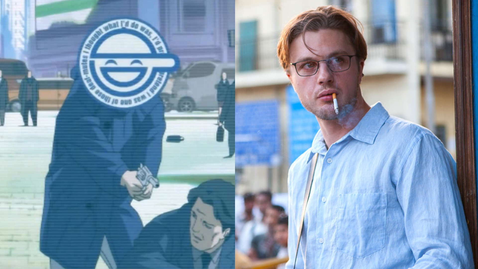 Micheal Pitt Cast As The Villain Laughing Man In Ghost In The Shell Geektyrant