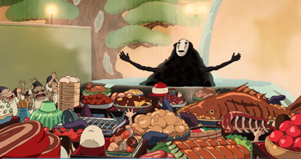 Hayao Miyazaki Film Food Part One Spirited Away Geektyrant