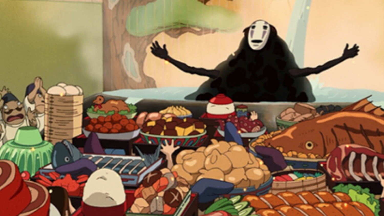 Hayao Miyazaki Film Food Part One Spirited Away Geektyrant