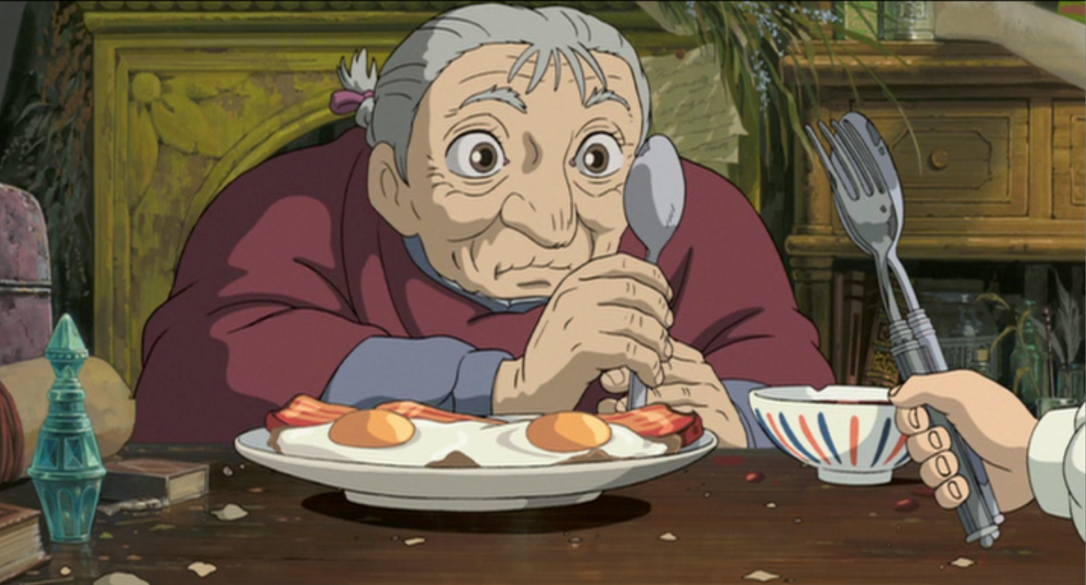 Hayao Miyazaki Film Food Part Four Howl S Moving Castle Geektyrant