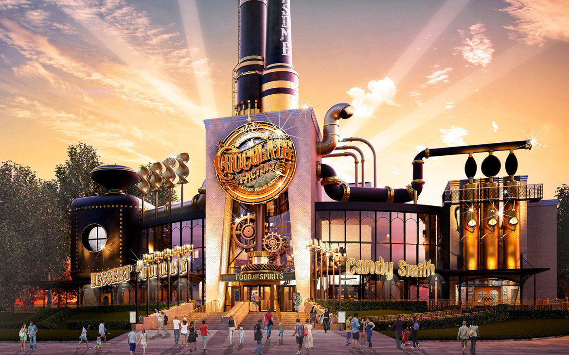Universal Studios is Building a Willy Wonka-Inspired Chocolate Factory!