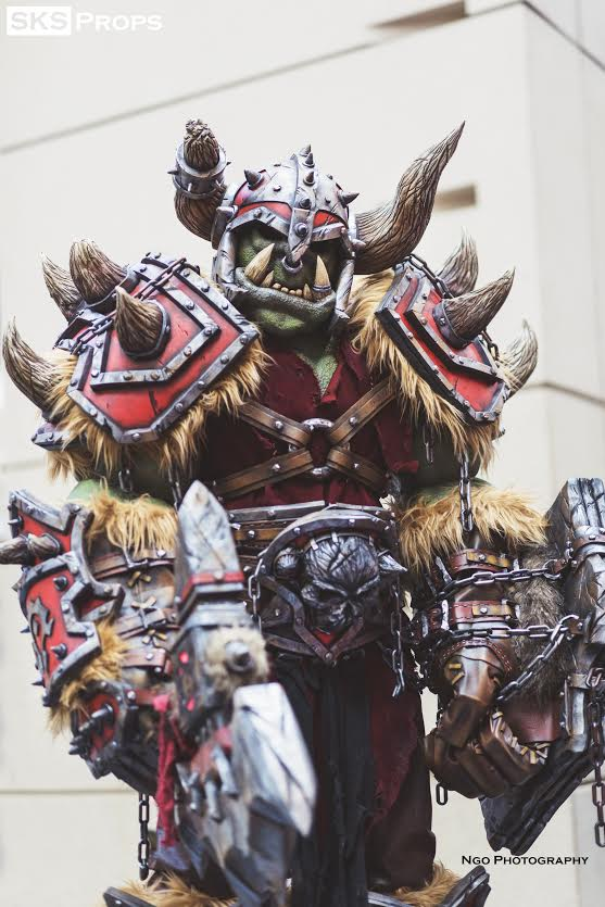 Shockingly Cool World Of Warcraft Orc Cosplay Lok Tar Ogar Geektyrant Here are a few common orcish phrases and words. shockingly cool world of warcraft orc