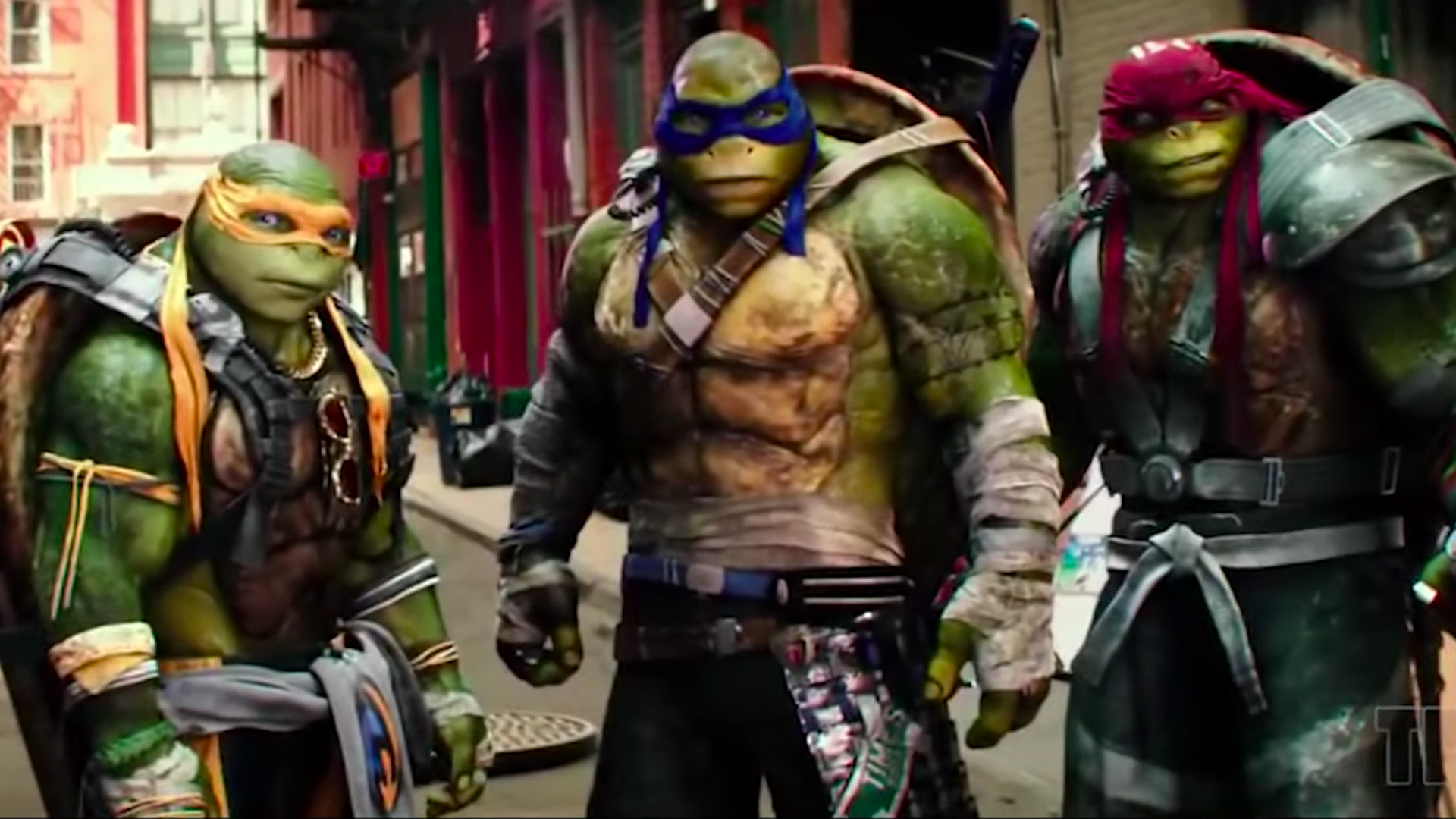 Tmnt Out Of The Shadows Footage Recut To Original Animated Series