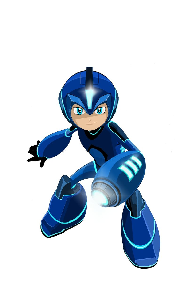 first-look-at-mega-man-in-new-animated-series