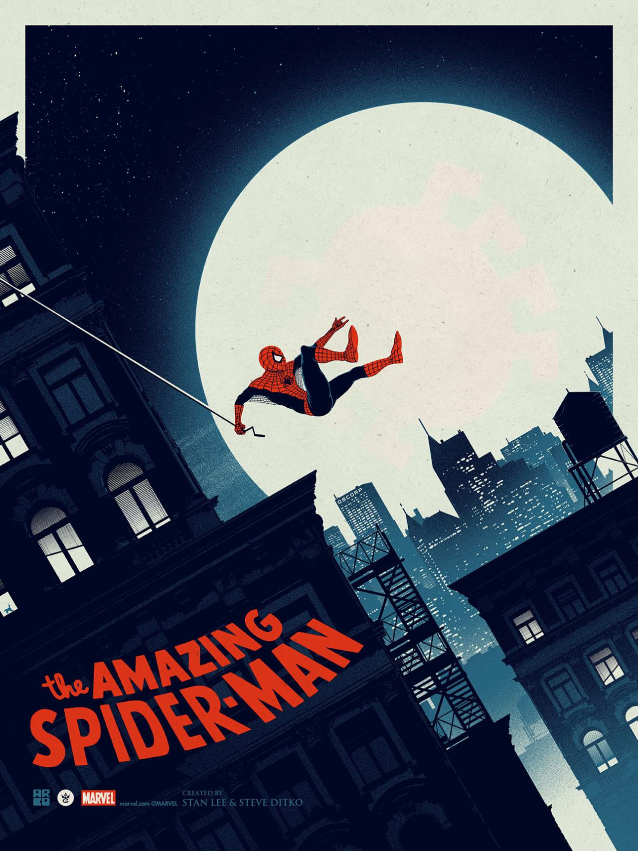 the-amazing-spider-man-art-by-matt-ferguson1